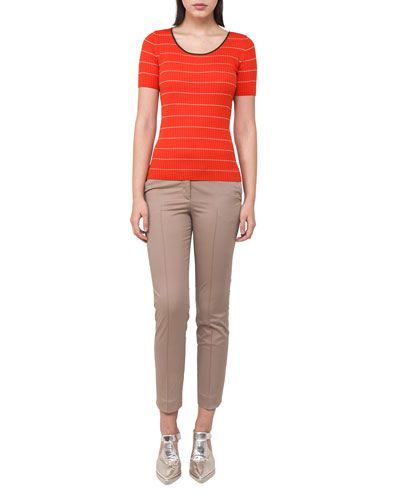 Frankie Stretch-Cotton Pants and Matching Items