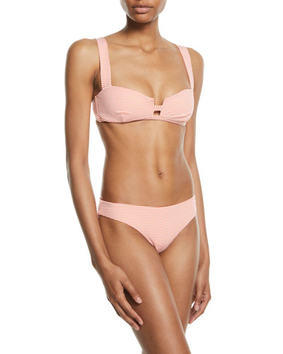 Kirsten Striped Bikini Top and Matching Items