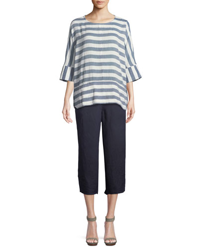 Delia Horizontal Striped Tunic  and Matching Items