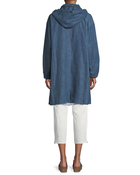 Padme Cotton Stretch Cropped Chino Pants