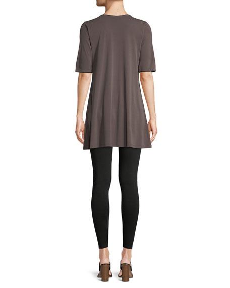 Silk Jersey Swing Tunic, Plus Size