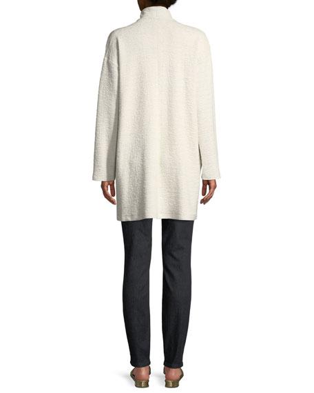 Double-Knit Jacquard Kimono Jacket, Petite