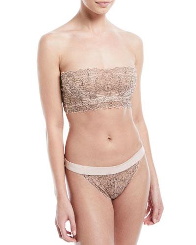 Waverly Lace Bandeau Bra and Matching Items