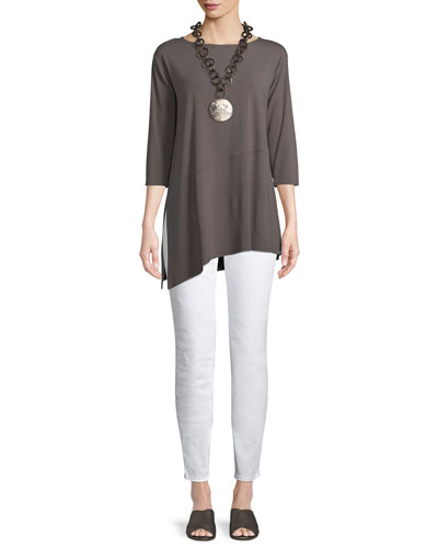 Viscose Jersey Asymmetric Top and Matching Items
