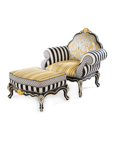 Queen Bee Chair  and Matching Items