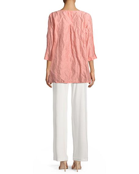 Sorbet Crinkle Easy Tunic, Plus Size
