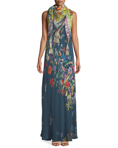 Linsu Maxi Printed Tank Dress and Matching Items