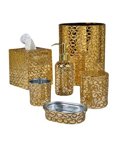 Jamila Glass Tumbler, Golden  and Matching Items