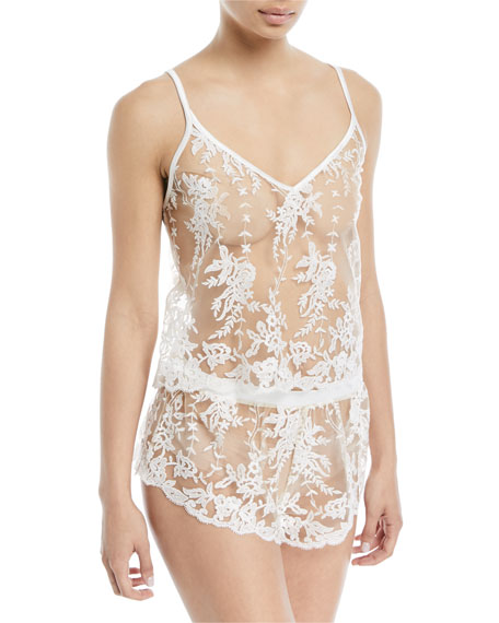 Rosie Sheer Lace Camisole
