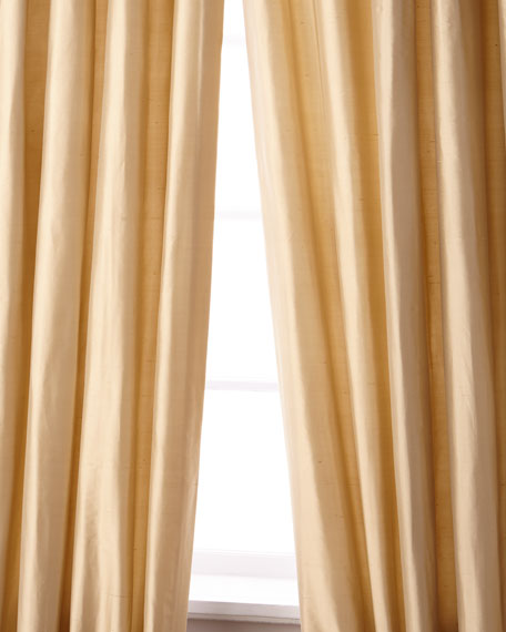 """Palace Silk Curtain, 90""""L"""