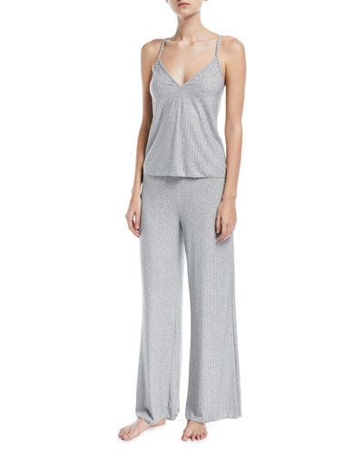 Minimalista Rib-Knit Lounge-Pants and Matching Items