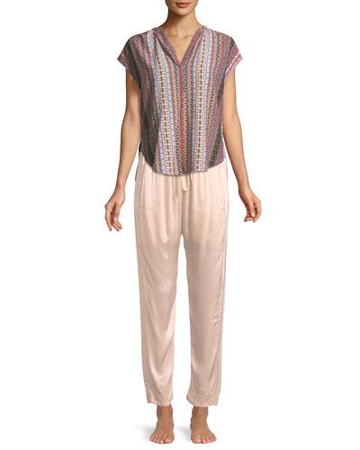 Draper Satin Lounge Pants and Matching Items