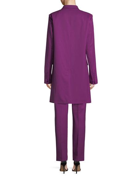 Slim Wool Blazer Coat