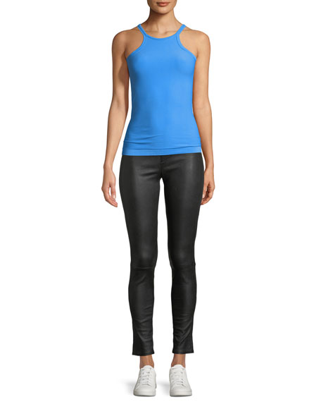 Seamless Fitted Jersey Racer Tank