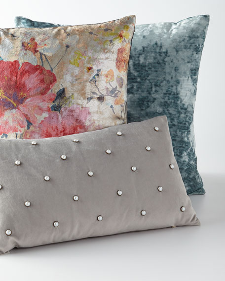 Dazzling Rose Decorative Pillow