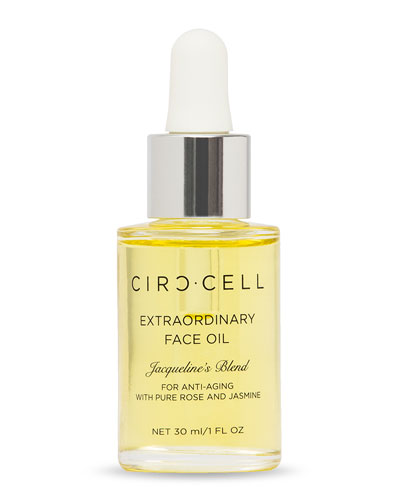 Extraordinary Face Oil – Jacqueline's Blend for Anti-Aging, 1.0 oz./ 30 mL and Matching Items