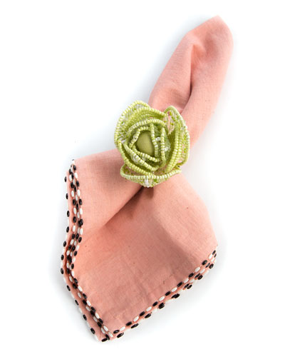 Cabbage Napkin Ring and Matching Items