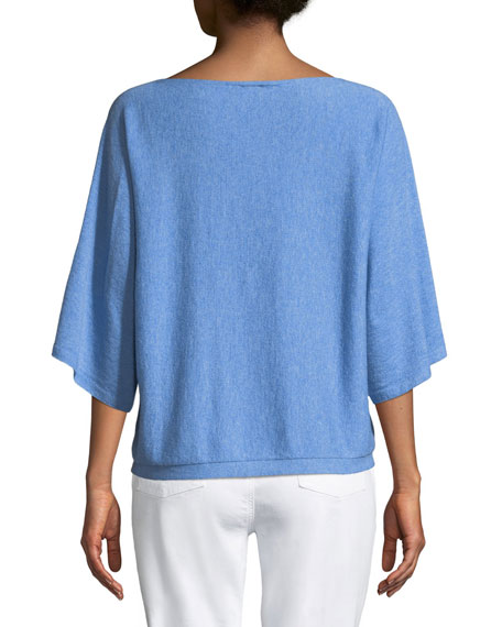 Seamless Seasonless Italian Cashmere Top