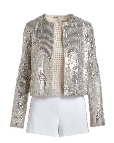 Kidman Sequin Embellished Jacket