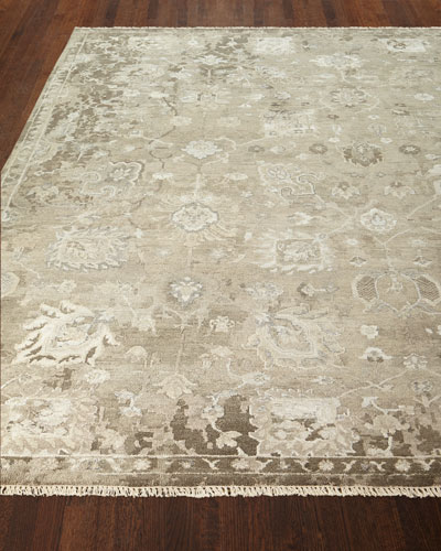 Hester Hand-Knotted Rug, 6' x 9'  and Matching Items