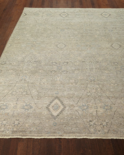 Zuriel Hand-Knotted Rug, 6' x 9'  and Matching Items