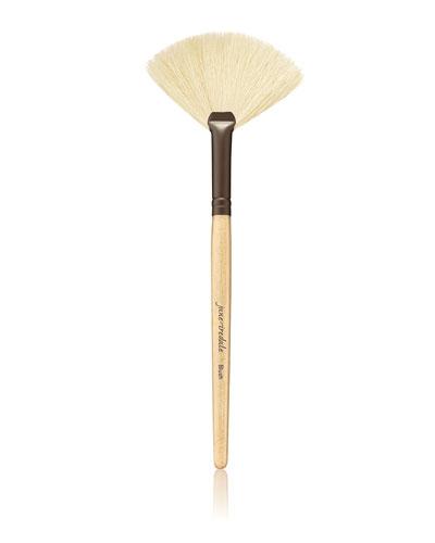 White Fan Brush and Matching Items