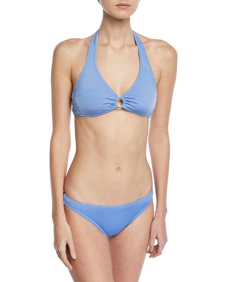 Halter Bikini Top w/Ring