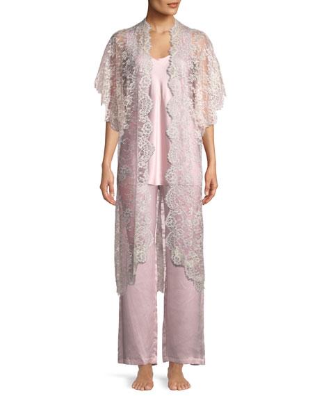 Beloved Floral Lace Robe
