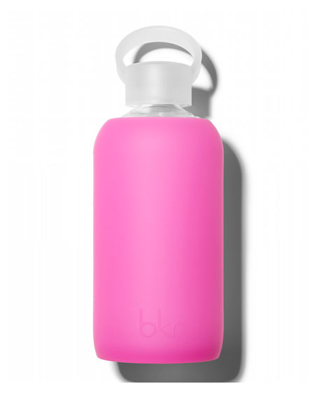 Glass Water Bottle, Spiked Fifth Ave, 16 oz./ 500mL