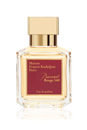 Maison Francis Kurkdjian 2.4 oz. Baccarat Rouge 540 Eau de Parfum 6.8 oz. Baccarat Rouge 540 Eau de Parfum 3 x 0.37 oz. Baccarat Rouge 540 Eau de Parfum Travel Spray Refills