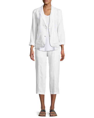 Organic Linen Blazer and Matching Items