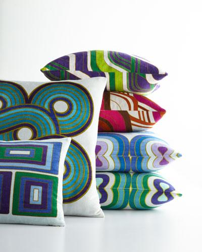 Milano Blocks Pillow  and Matching Items