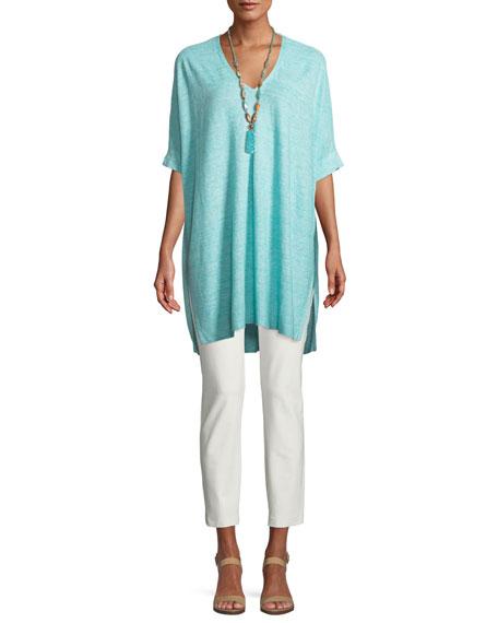 Silk Jersey Long Slim Camisole