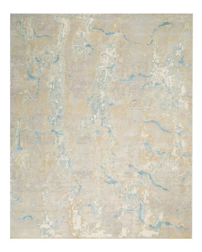 Tranquilite Hand-Knotted Rug, 8' x 10' and Matching Items