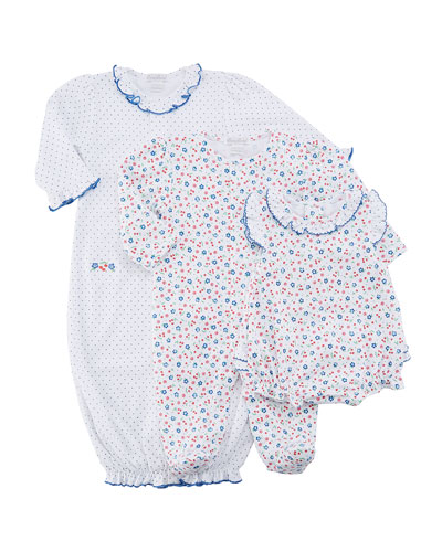 Petite Cerise Printed Pima Footie Playsuit, Size 0-9 Months  and Matching Items