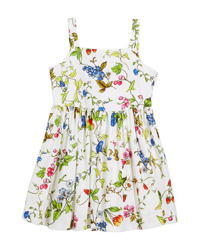 Emaline Floral-Print Dress, Size 8-14 and Matching Items