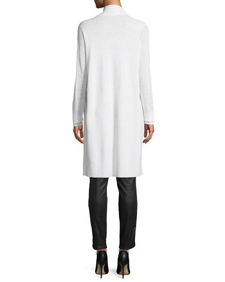 Bell Embroidered-Yoke Sleeveless Sweater