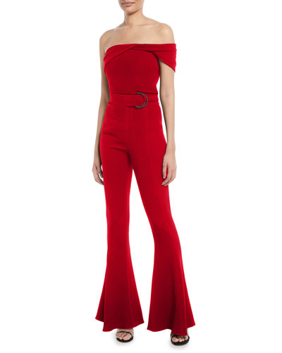 One-Shoulder Fluid Cady Bustier Top and Matching Items
