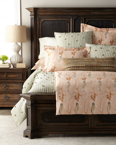 Oiseaux Sateen King Duvet Cover and Matching Items
