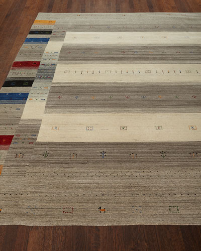 Aviane Hand-Loomed Rug, 6' x 9'  and Matching Items