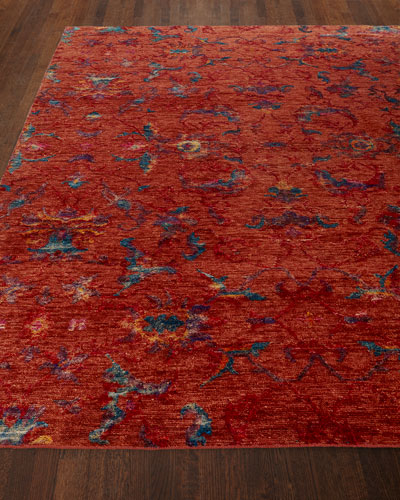 Cecily Hand-Knotted Rug, 8' x 10' and Matching Items