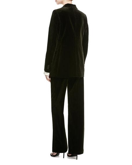 Albert Stretch Velvet Blazer Jacket