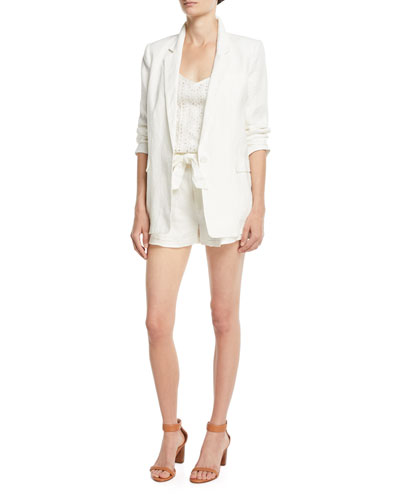 Jaklynn Pleated Linen Shorts and Matching Items