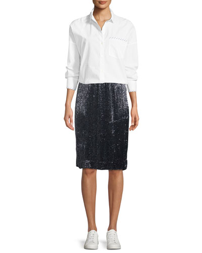 Edryce Sequin Knee-Length Skirt and Matching Items