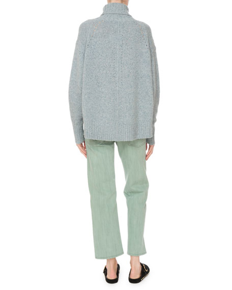 Heavy Cashmere Turtleneck Sweater
