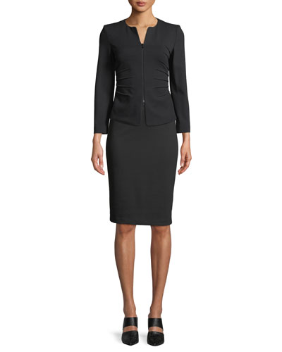 Milano Jersey Knee-Length Pencil Skirt and Matching Items