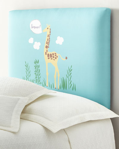 Giraffe Twin Headboard, Personalized  and Matching Items