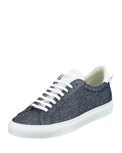 Urban Street Metallic Leather Low-Top Sneaker and Matching Items