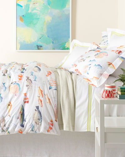 Happy Fish Duvet Cover FullQ and Matching Items