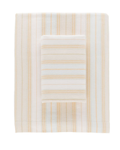Shelburne Stripe Flannel Standard Pillowcases, Set of 2  and Matching Items